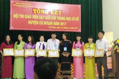 Hội thi GVDG cấp huyện năm học 2017 – 2018