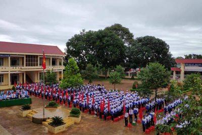 Rộn ràng ngày hội toàn dân đưa trẻ đến trường và khai giảng năm học 2019-2020