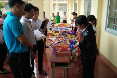 """Chương trình """"Vui hội trung thu"""" của trường THCS Trần Quang Diệu"""