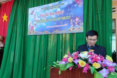 Hội thi văn nghệ kỷ niệm 38 năm ngày nhà giáo Việt Nam 20 – 11.
