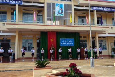 Lễ Tổng kết năm học 2017 – 2018 của trường THCS Trần Quang Diệu